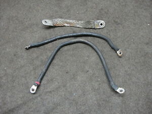00 2000 HARLEY BUELL LIGHTNING X1 BATTERY CABLES #111A58