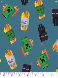 minecraft fabric x44 flames mobs yard icons cotton mini