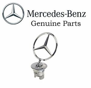 2218800086 For Mercedes Hood Star Emblem C350 E350 S600