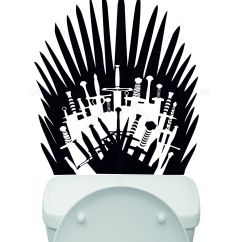 Game Of Thrones Chair For Sale Swivel Velvet Toilet Basin Bathroom Iron Throne Swords
