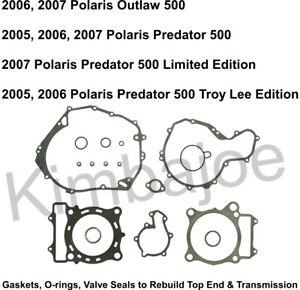 Polaris 500 Outlaw Predator Listed Rebuild Gasket Set for