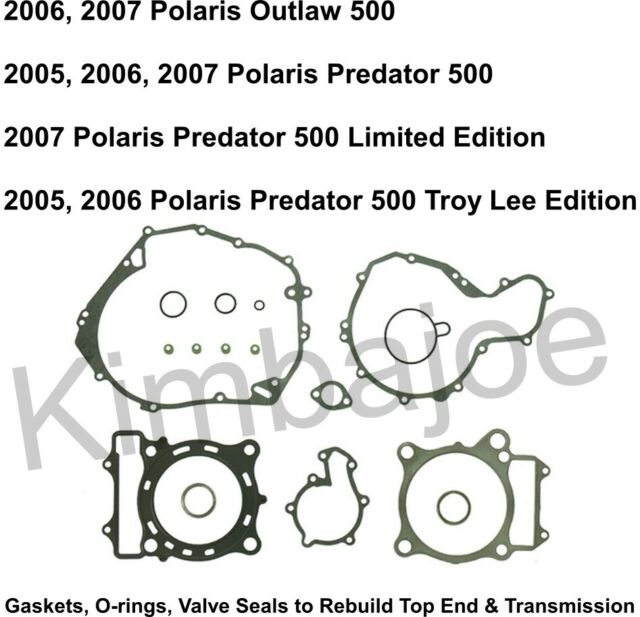 Polaris 500 Outlaw Predator Listed Top End & Transmission