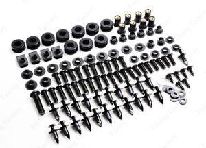 Complete Fairing Bolts Kit Body Screws For Kawasaki ZX6R