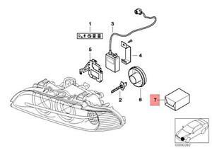 Genuine BMW 5 Series E39 Sedan Wagon Headlight Tab Repair