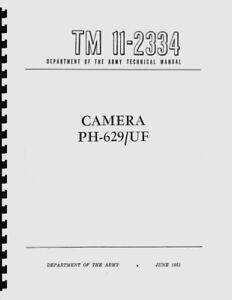 Kardon Camera (Camera PH-629/UF) Department of the Army