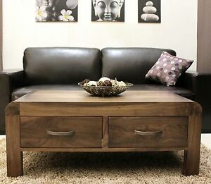 walnut furniture living room dark teal curtains shiro solid storage coffee table with image is loading