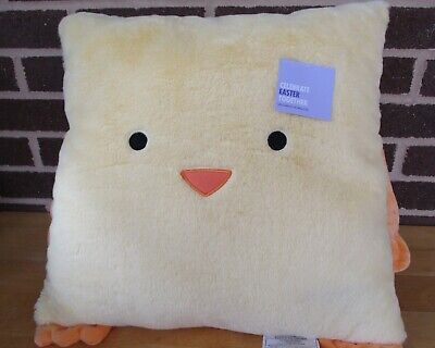 kohl s sonoma yellow easter chick throw pillow 17 x 17 sq finished size nwt 400846110053 ebay