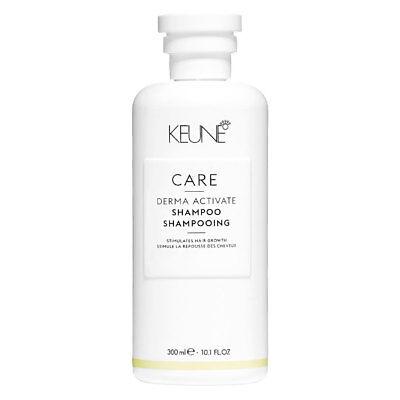 Keune Care Derma Activate Shampoo 300ml/ 10.1oz FREE