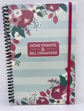 Home Finance Bill Organizer : finance, organizer, Organizer, Finance, Monthly, Pockets, Flowers, Online