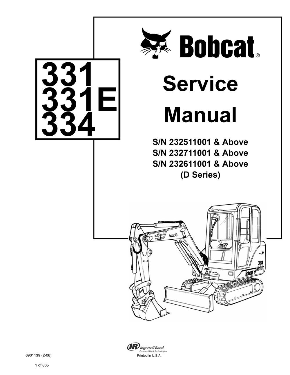 hight resolution of service manual 6901139 image