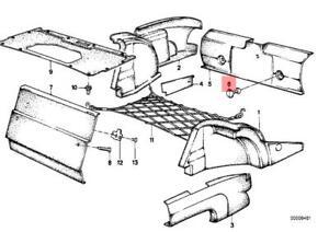 Genuine Lock x5 pcs BMW E28 518 518i 520i 524d 524td 525e