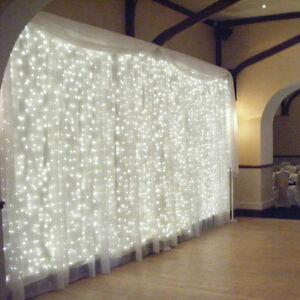 details about 120 x 108 9ft chiffon voile sheer drape panel backdrop white curtain wedding