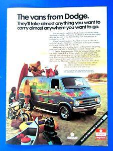 1975 Dodge Tradesman Van : dodge, tradesman, Dodge, Tradesman, Customized, Original, Print