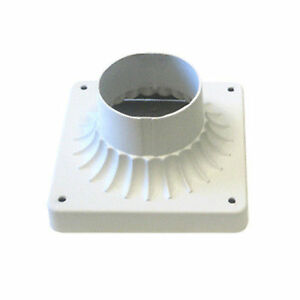 TP Lighting Outdoor Post Lighting Fixture Adaptor White