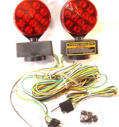 12v 24 led magnetic towing trailer light kit ebay wiring harness diagram wrecker parts magnetic wiring harness [ 1370 x 1600 Pixel ]