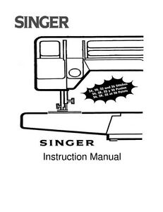 Singer 5040 Sewing Machine/Embroidery/Serger Owners Manual