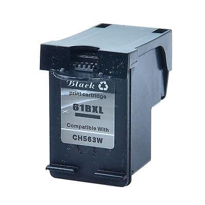 Compatible with 1PK Black Ink for HP 61XL DeskJet 2540 2542 3000 3050 3051 3052 695978492478   eBay