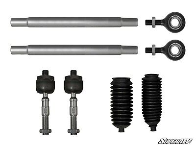 SuperATV Heavy Duty Tie Rod Kit for Polaris Ranger XP 800