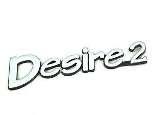 Genuine New CITROEN DESIRE 2 BOOT BADGE Xantia 1993-98 AZ