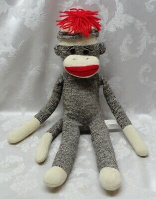 Monkey With Red Lips : monkey, Monkey, Schylling, Brown, Plush, Stuffed, Animal