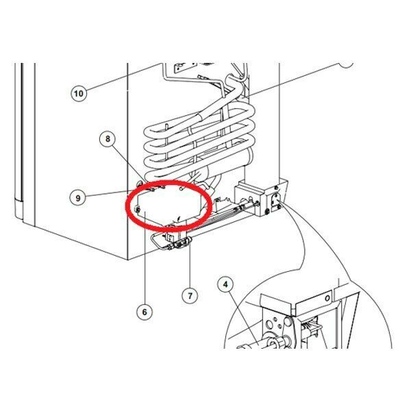 Norcold 691449 Refrigerator Power Supply Circuit Board for