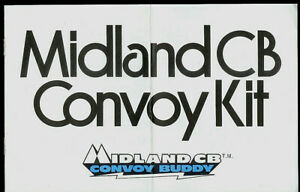 Midland Mobile CB Radio Transceiver Convoy Kit Rubber Duck