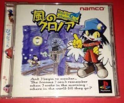 PS Kaze no Klonoa door to phantomile Japan PlayStation 1 PS1   eBay