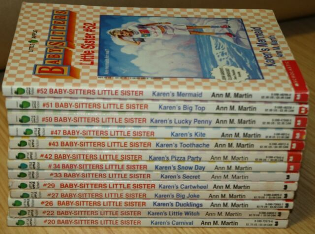 Baby Sitters Little Sisters Books By Ann Martin x13