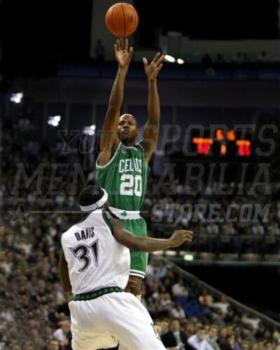 Jump Shoot Adalah : shoot, adalah, Allen, Boston, Celtics, 11x14, 16x20, Photo