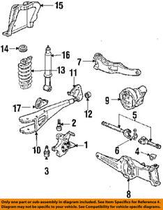 1996 ford ranger front suspension diagram fleetwood motorhomes oem 84 94 housing f37z5a306b ebay image is loading