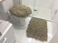 RUG MEDUSA BATHROOM SET MEDIUM BROWN | eBay
