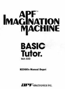 APF Basic Tutor and Language Reference Manual * CDROM