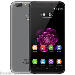 "5.5"" OUKITEL U20 Plus 4G LTE Smartphone Android Quad Core 2GB/16GB 13MP Touch ID"