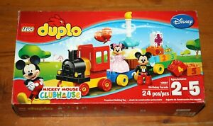 LEGO Duplo Mickey Mouse Clubhouse 10597 Birthday Parade Set NEW SEALED IN BOX 673419232630   eBay