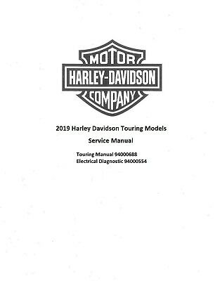 2019 Harley Davidson Touring Models Service Manual