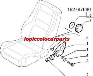 182787680 Mostrina Interna Regolazione Sedile Fiat