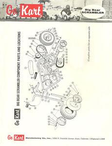 Mini Bike Parts Catalog : parts, catalog, Vintage, Go-Kart, Scrambler, Mini-Bike, Catalog, Parts, Price