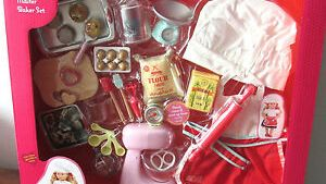 """American Our Generation 18"""" Girl Doll MASTER BAKER Kitchen"""