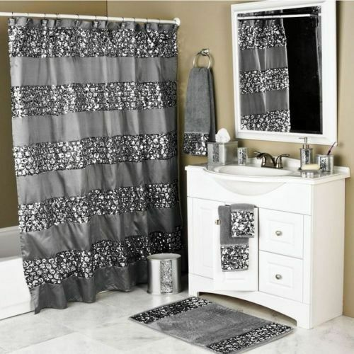 sparkly shower curtain unique sequin