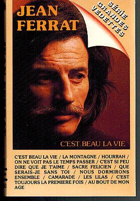 Jean Ferrat C'est Beau La Vie : ferrat, c'est, CANADA, CASSETTE, AUDIO, FERRAT, C'EST