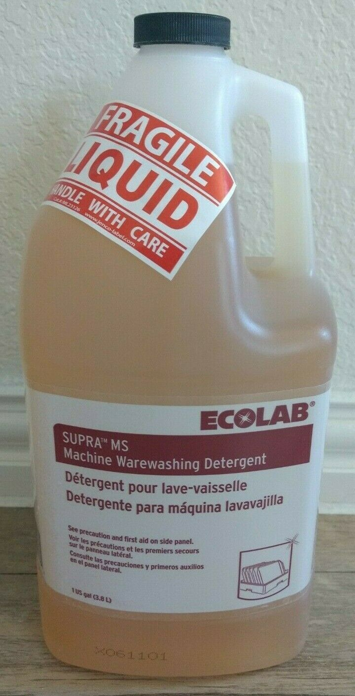 Ecolab Dishwasher Detergent : ecolab, dishwasher, detergent, Ecolab, Supra, Machine, Warewashing, Detergent, Gallon), Online