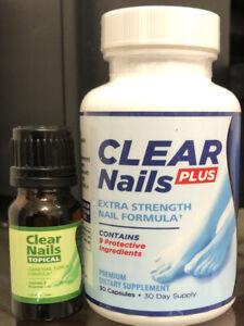 Clear Nails Plus : clear, nails, Clear, Nails, Extra, Strength, Formula, +clear, Tropical, Freeshipping