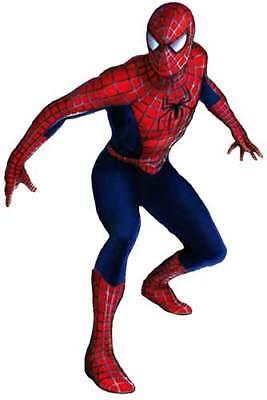 Spider Man Full Body : spider, Amazing, SPIDERMAN, Marvel, Superhero, Window, Cling, Sticker, Decal