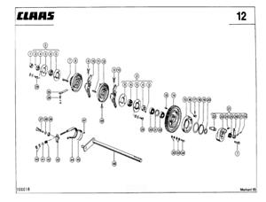 CLAAS Markant 65 Baler Parts Catalogue (PDF file) SPARE
