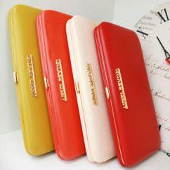 2 Way Pearl Leder Ford 3 Pin Alternator Wiring Diagram Genuine Leather Women Wallet Lady Purse Card Long Clutch Bag Handbag Cow   Ebay