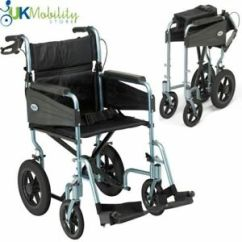 Portable Wheel Chair Folds Into Bed Days Escape Lite Ultra Lightweight Wheelchair 640522964505 Image Is Loading