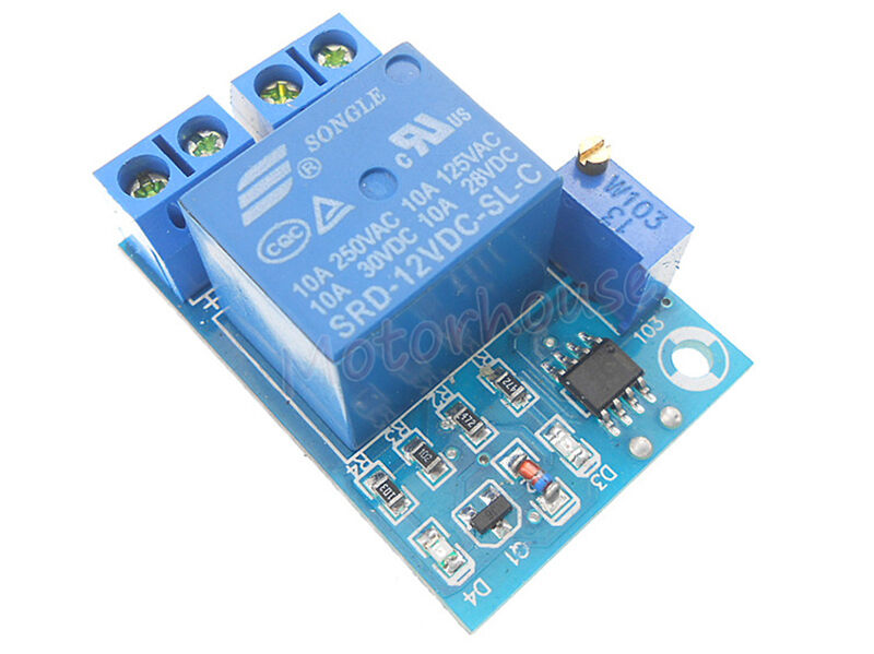 Low Voltage Cut Off Protection Board Automatic Recovery