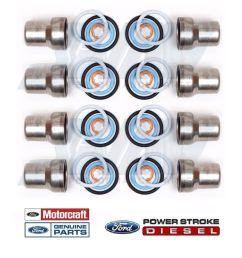 03 10 ford 6 0 6 0l powerstroke diesel oem fuel injector sleeves o  [ 1440 x 1371 Pixel ]