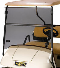 ezgo windshield what is a space diagram txt golf cart folding tinted impact resistant medalist 1994 2013 new in box part