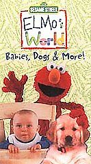 Elmo's World Babies Dogs And More 2000 Vhs : elmo's, world, babies, Elmos, World, Babies,, (VHS,, 2000), Online